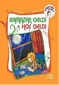 Ramazan Geldi Hoş Geldi - Çıkartma Kitabım