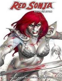 Red Sonja Kılıçlı Dişi Şeytan (Beyaz Kapak)