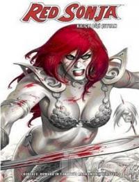 Red Sonja Kılıçlı Dişi Şeytan (Beyaz Kapak) Cilt 1