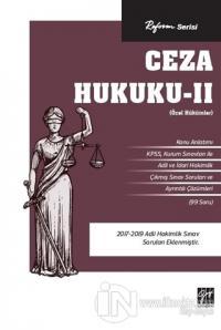 Reform Serisi Ceza Hukuku - 2 (Özel Hükümler) Kolektif