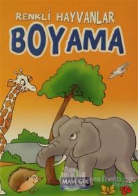 Renkli Hayvanlar Boyama