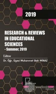 Research and Reviews In Educational Sciences - Summer 2019