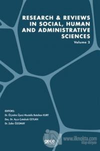Research and Reviews in Social, Human and Administrative Sciences Volume 2
