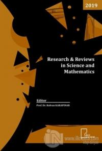 Research Reviews in Science and Mathematics %20 indirimli Kolektif