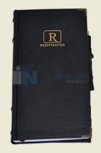 Rezervasyon 1733 (Siyah Kapak)