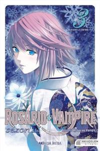 Rosario + Vampire - Tılsımlı Kolye ve Vampir - Sezon 2 Cilt 3