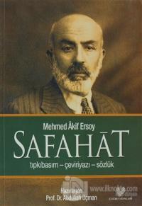 Safahat (Tıpkıbasım-Çeviriyazı-Sözlük)