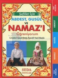Şafiiler İçin Abdest Gusül ve Namaz'ı Öğreniyorum (Çanta Boy - Kod: 136)