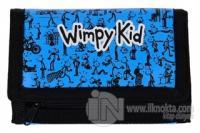 Saftirik - Wimpy Kid Baskılı Çanta - Mavi
