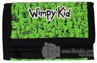 Saftirik - Wimpy Kid Baskılı Cüzdan - Yeşil