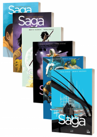 Saga 6 Kitap Takım Brian K. Vaughan
