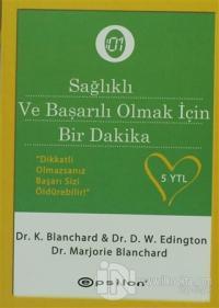 """Sağlıklı ve Başarılı Olmak İçin """"Bir Dakika"""" %25 indirimli M. Blanchar"""