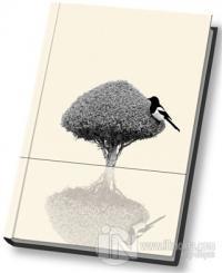 Saksağan Kuş Defter Ciltli