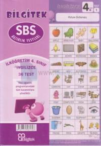 4.Sınıf İngilizce SBS Çek Kopar Yaprak Test - Bilgitek