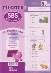 5.Sınıf İngilizce SBS Çek Kopar Yaprak Test - Bilgitek