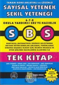 SBS Tamamı Konu Anlatımlı ve Çözümlü Sayısal Yetenek Şekil Yeteneği - Tek Kitap