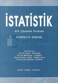 Schaums İstatistik 870 Çözümlü Problem