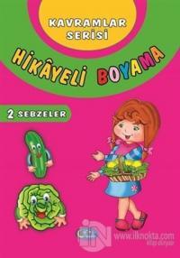 Sebzeler - Hikayeli Boyama 2