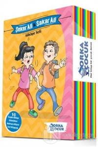 Şeker Ali ve Sakar Ali Hikaye Seti (10 Kitap + Test Kitabı)