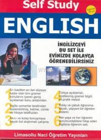 Self Study English İngilizce Öğrenim Seti Özel Çantası İçinde