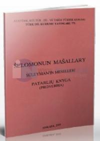 Selomonun Masallary / Süleyman'ın Meselleri