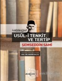 Şemseddin Sami - Usül-i Tenkit ve Tertip