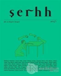 Şerhh Şiir ve Eleştiri Dergisi Sayı: 2015/1