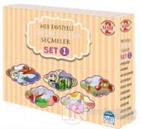 Set 1-2.Sınıf MEB Tavsiyeli 100 Temel Eser Seçmeler 10 Kitap Takım
