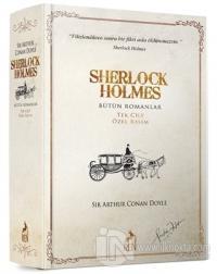 Sherlock Holmes Bütün Romanlar (Tek Cilt Özel Basım) (Ciltli)
