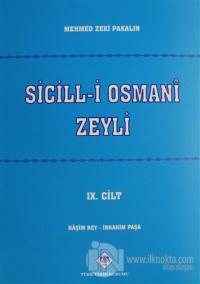 Sicill-i Osman-i Zeyli Cilt: 9