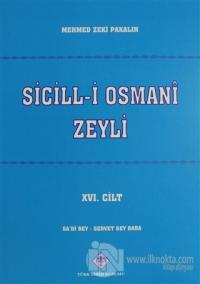 Sicill-i Osmani Zeyli Cilt: 16