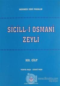 Sicill-i Osmani Zeyli Cilt: 19