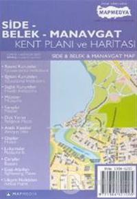 Side - Belek - Manavgat Kent Planı ve Haritası Side & Belek & Manavgat