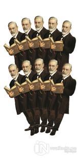 Sigmund Freud - 10'lu Lazer Kesim Ayraç