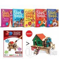 Sihirli Günlük 5 Kitap Takım (Su Değirmeni 3D Ahşap Maket Hediyeli)