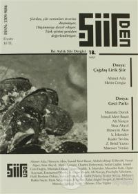 Şiirden İki Aylık Şiir Dergisi Sayı: 18