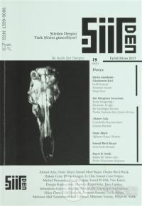 Şiirden iki Aylık Şiir Dergisi Sayı: 19