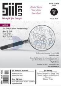 Şiirden İki Aylık Şiir Dergisi - Sayı: 27 Ocak - Şubat