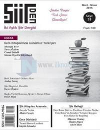 Şiirden İki Aylık Şiir Dergisi - Sayı: 28 Mart - Nisan