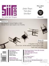 Şiirden İki Aylık Şiir Dergisi Sayı: 34 Mart-Nisan 2016