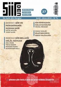 Şiirden İki Aylık Şiir Dergisi Sayı: 37 Eylül-Ekim 2016