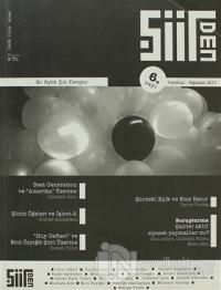 Şiirden İki Aylık Şiir Dergisi Sayı: 6