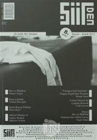 Şiirden İki Aylık Şiir Dergisi Sayı: 8
