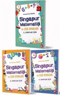 Singapur Matematiği ve Zeka Oyunları Seti (3 Kitap Takım)