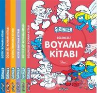 Şirinler Boyama Kitapları Seti (6 Kitap Takım)