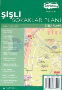 Şişli Sokaklar Planı