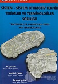 Sistem - Sistem Otomotiv Teknik Terimler ve Terminolojiler Sözlüğü