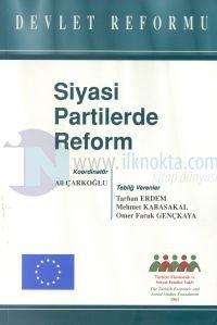 Siyasi Partilerde ReformDevlet Reformu Mehmet Kabasakal
