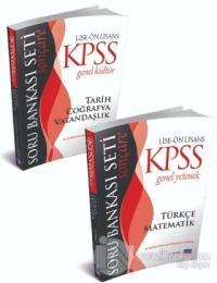 Son Çare Lise-Ön Lisans Kpss Genel Kültür/Genel Yetenek Soru Bankası (2 Kitap Takım)