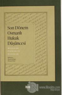 Son Dönem Osmanlı Düşüncesi
